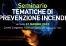 Prevenzione incendi: il 17 maggio a Cagliari un seminario tecnico