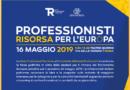 Professioni a confronto con i candidati alle europee il prossimo 16 maggio